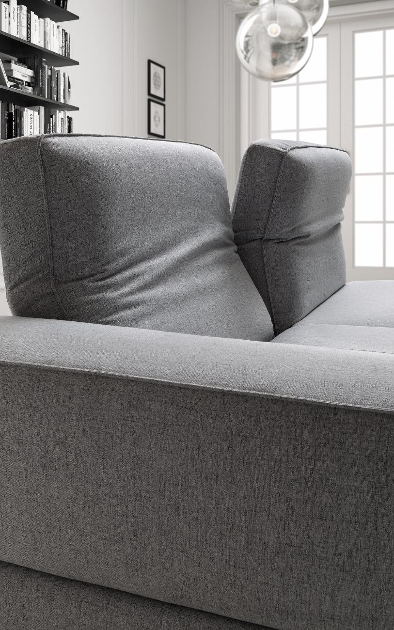 JOHNSON divani in tessuto 3 posti maxi particolare3