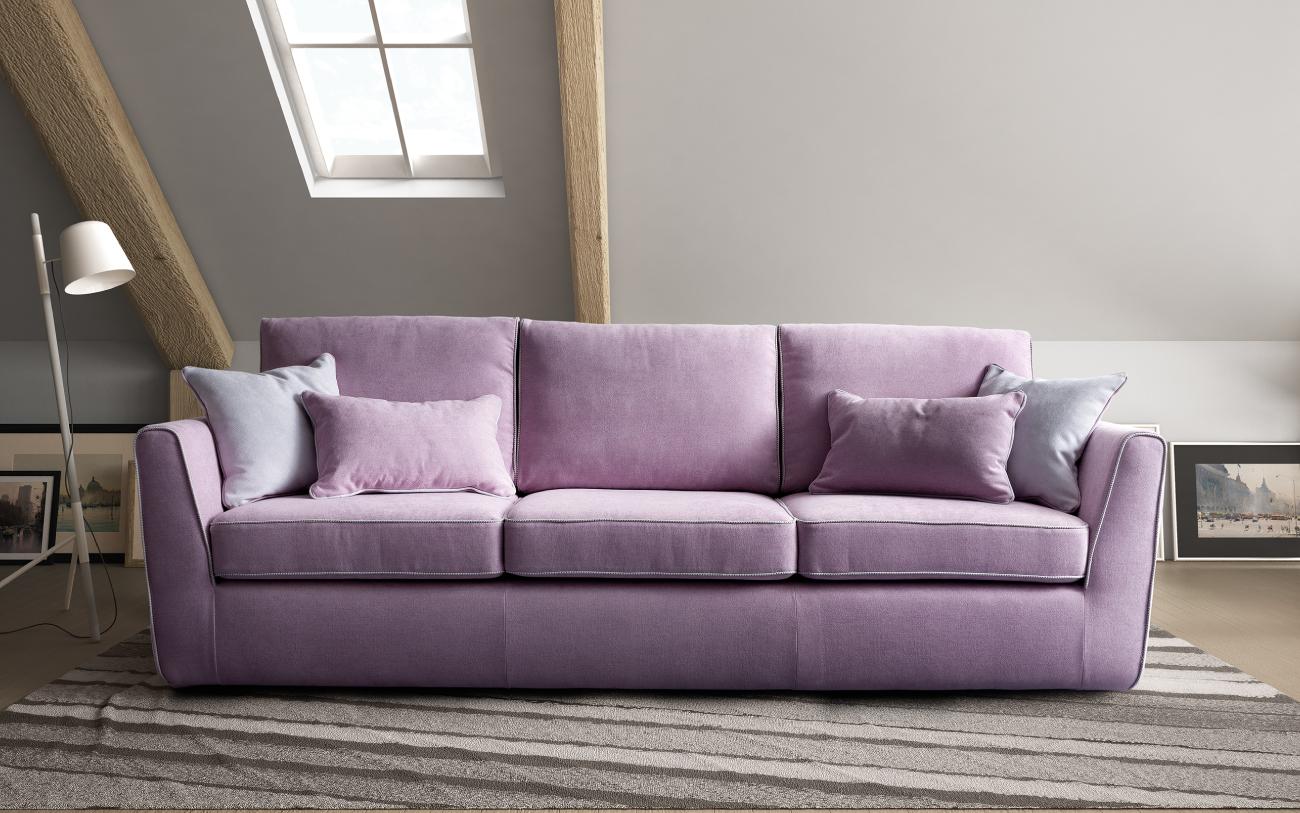 LOLA divano in tessuto 3 posti maxi particolare1