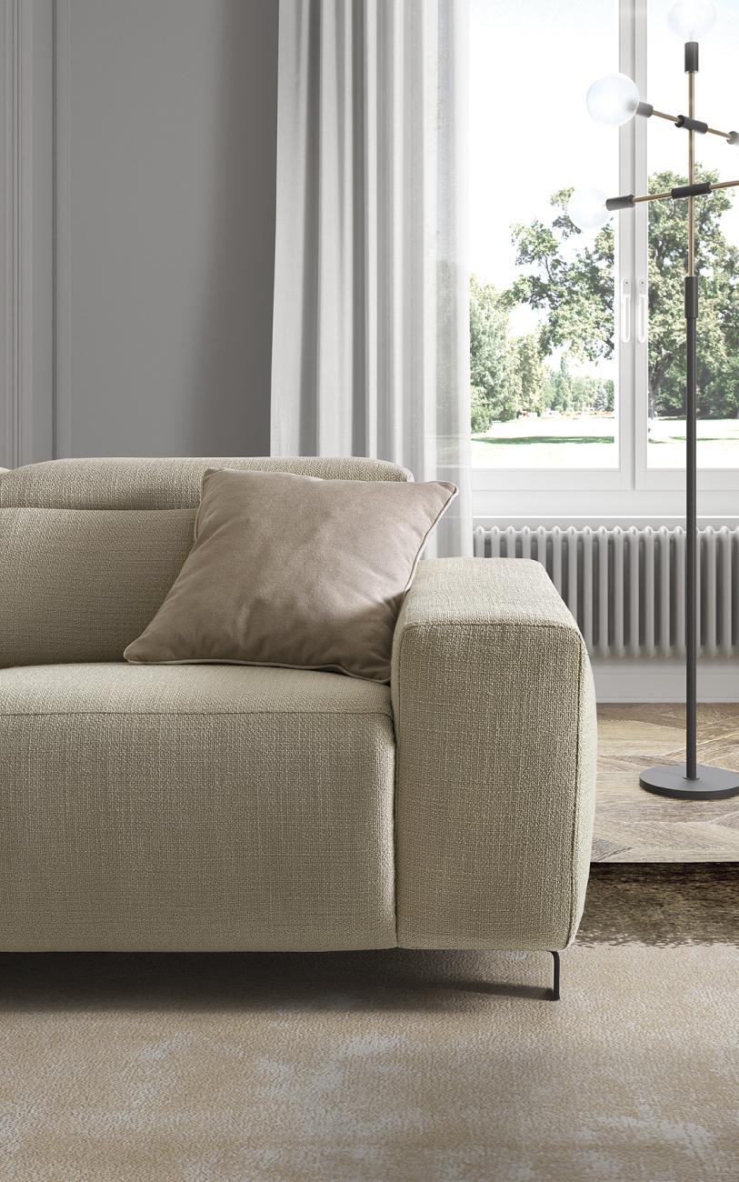 SEBASTIAN divano in tessuto particolore1