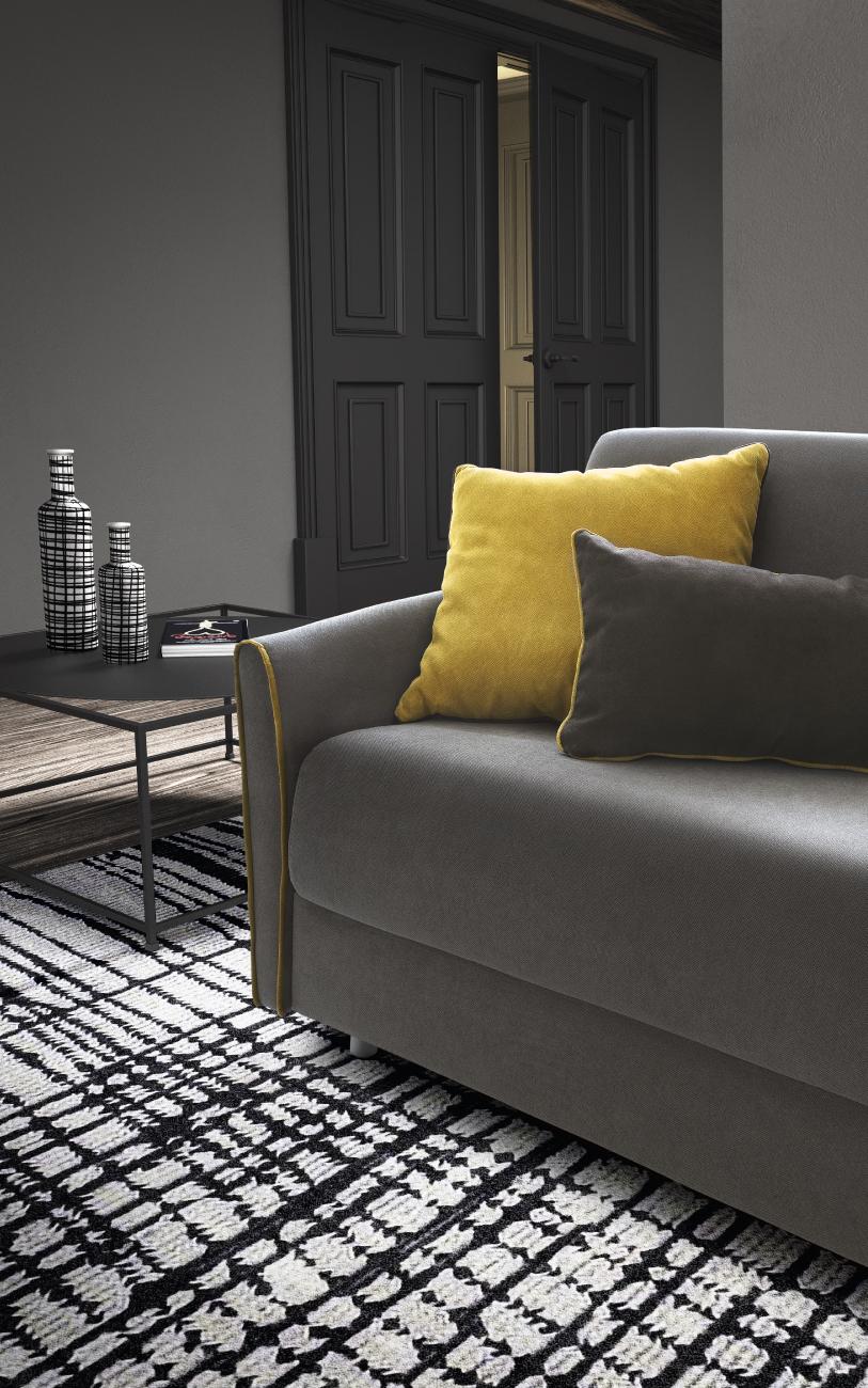 TAHITI divano letto tessuto 3 posti maxi particolare3