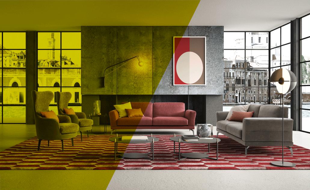 Zona giorno - Nuova collezione divani