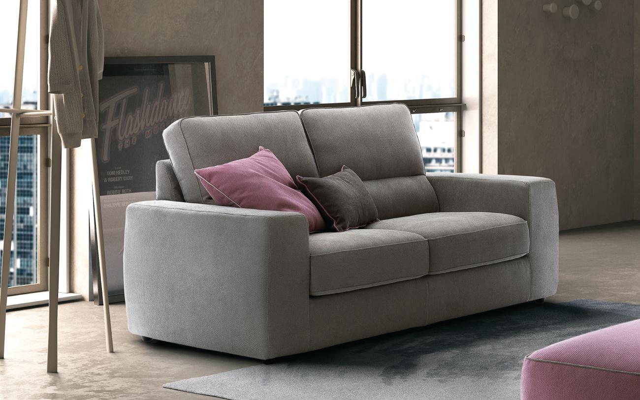 Tommy - divano due posti in tessuto