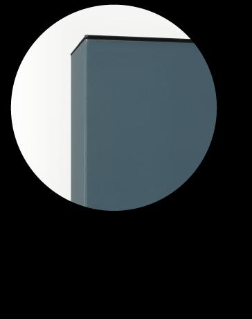 Anta laccata lucido spessore 18 mm