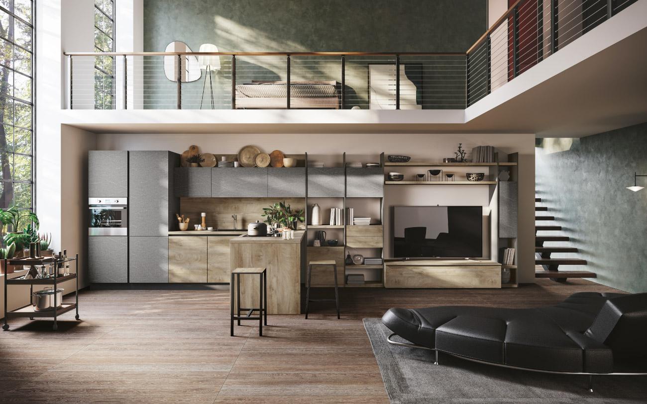 Cucina moderna lineare Pensarecasa immagine