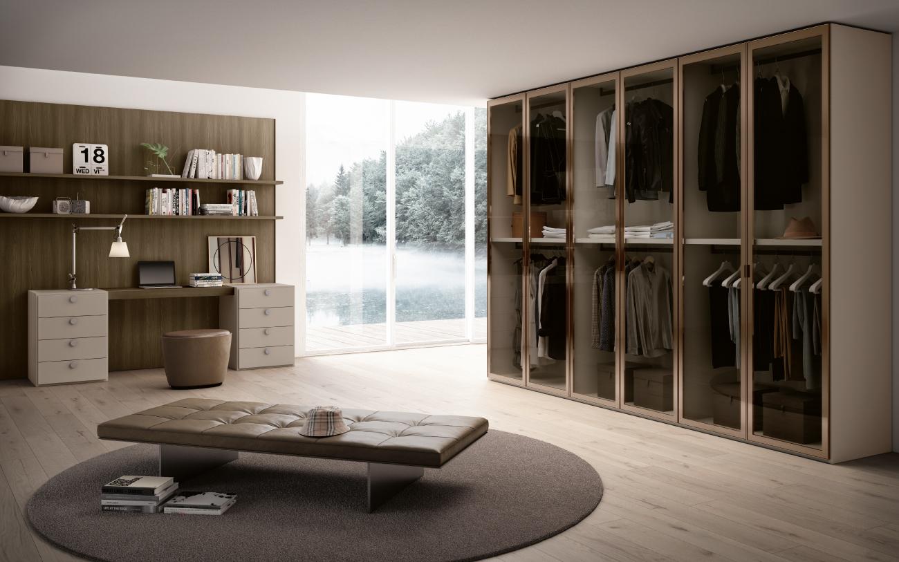 Ufficio in casa - soluzione camera da letto