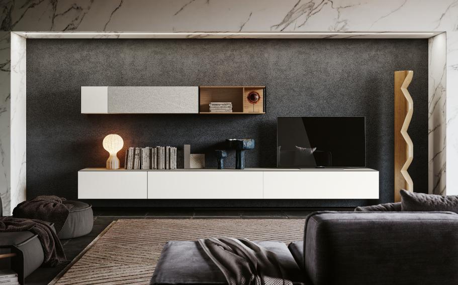 Arredamento casa - soggiorni moderno tv