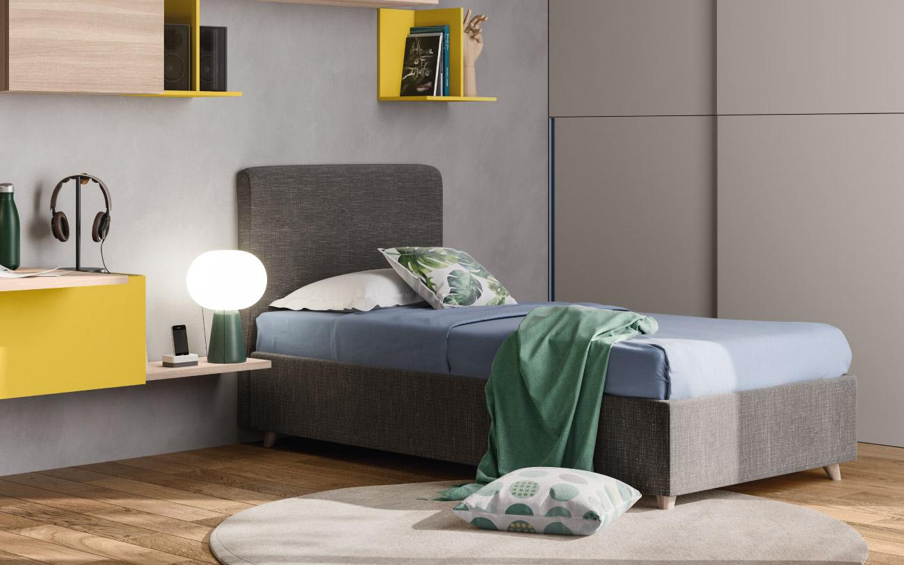 Camera da letto ragazzo Pensarecasa particolare letto