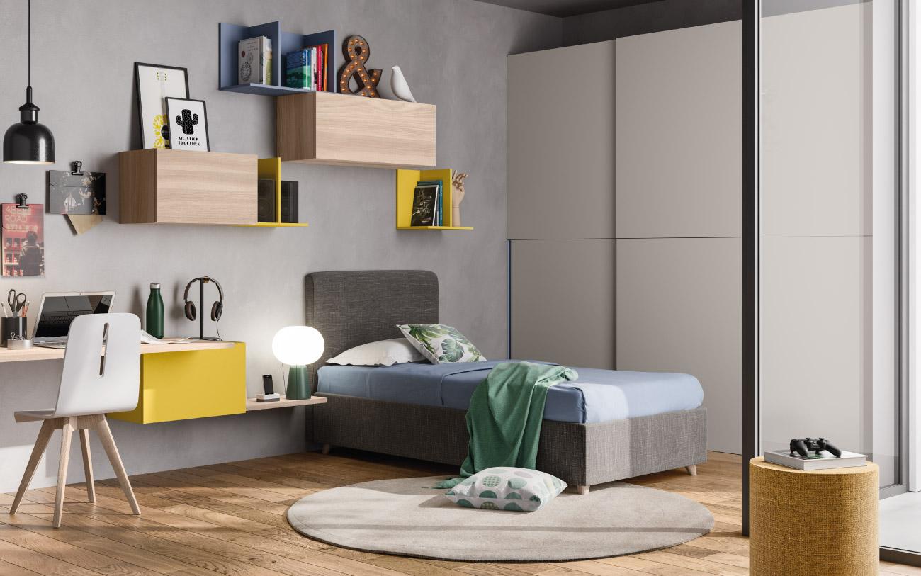 Camera da letto ragazzo Pensarecasa