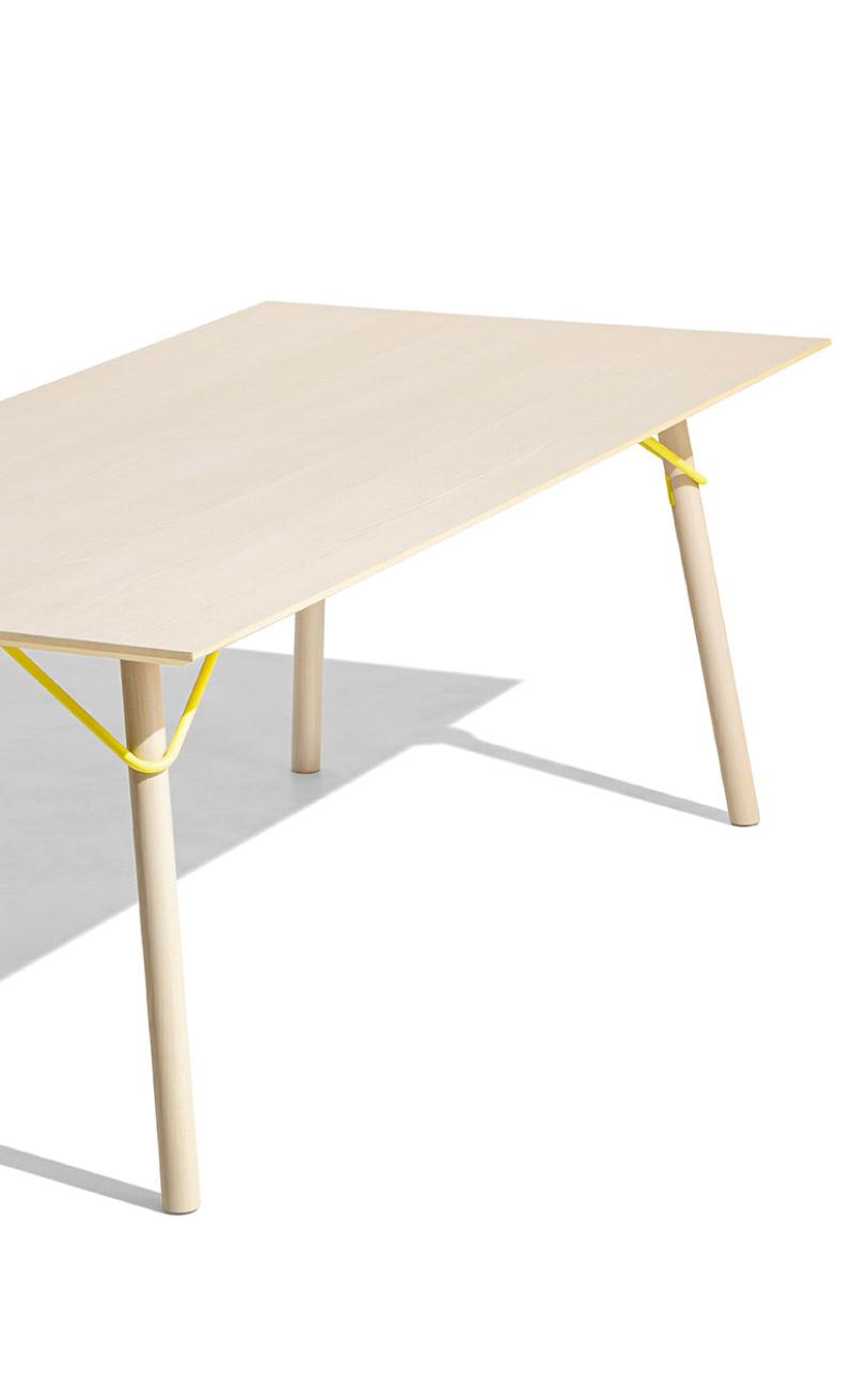 Tavolo rettangolare fisso Connubia selezione Pensarecasa - immagine