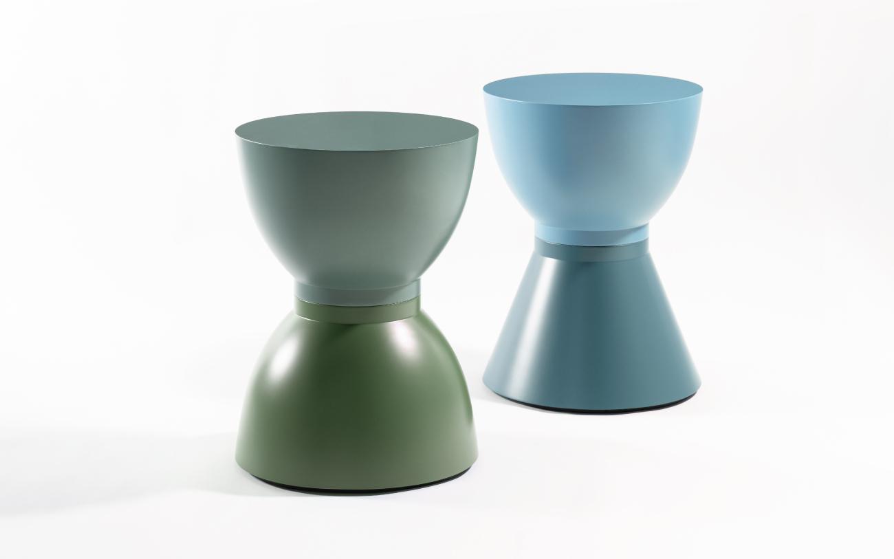 Tavolini bassi MONOLITH ONE eTWO - collezione Pigmentə Pensarecasa