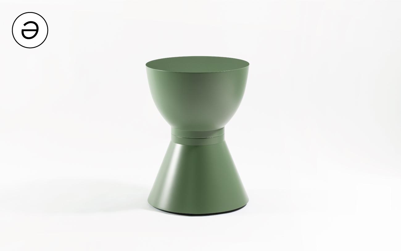 Tavolino basso MONOLITH TWO - collezione Pigmentə Pensarecasa