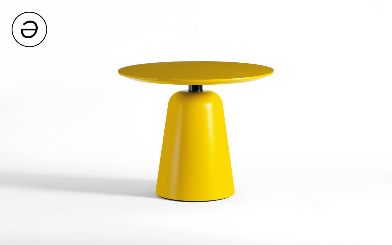Tavolino basso Smurf M - collezione Pigmentə Pensarecasa