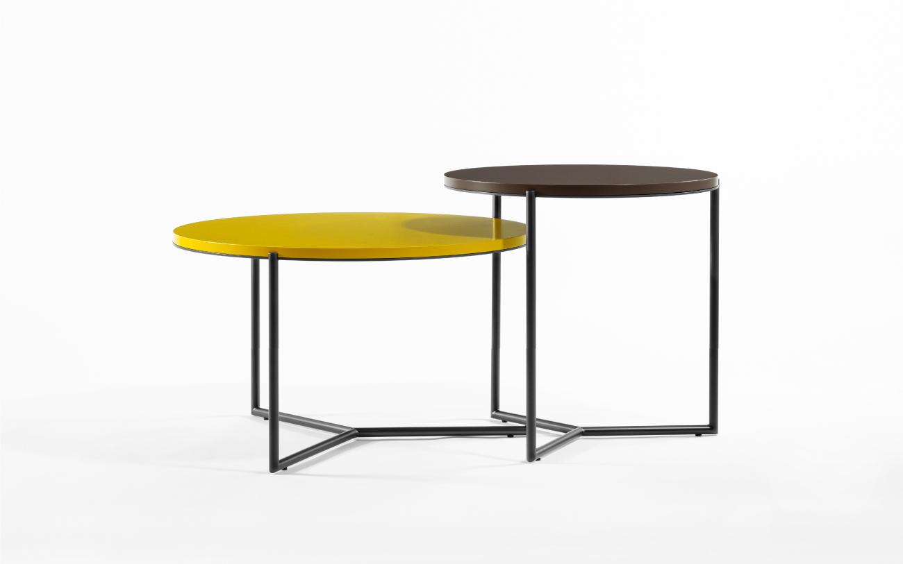 Tavolini bassi Splice S e L - collezione Pigmentə Pensarecasa